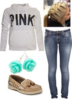 """Casual Day"" by caitlyn-xo on Polyvore"
