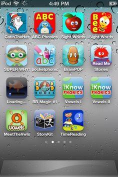 Preschool  Early Reading apps.