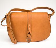 Saddle Bag with Neri Firenze Signature Bow