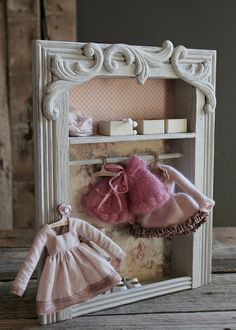 Pink Cabinet! by Abi Monroe of Taylor Couture, via Flickr