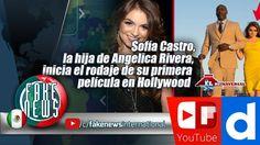 Sofía Castro, la hija de Angelica Rivera, inicia el rodaje de su primera...