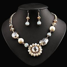 Naizhu Women's Fashion Jewelry Sets