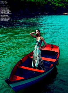 summer love: ana claudia michels by eduardo rezende for elle brazil january 2013 | visual optimism; fashion editorials, shows, campaigns & more!