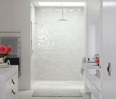 bathroom / desire to inspire - desiretoinspire.net - Justine Hugh-Jonesencore.. Ihana seinä!