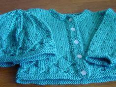 Crochet Baby Dress Pattern, Baby Dress Patterns, Baby Knitting Patterns, Knit Crochet, Crochet Patterns, Knit Baby Sweaters, Baby Vest, Newborn Crochet, Knitting For Kids