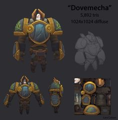 Polycount Forum - View Single Post - What Are You Working On? 3d Model Character, Character Modeling, Game Character, Character Concept, Character Design, Modelos Low Poly, Robot Cartoon, Low Poly Games, Game Textures