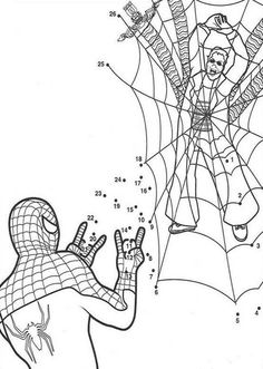 Black spiderman coloring pages games ~ 43 Best Spiderman Coloring Pages images | Spiderman ...