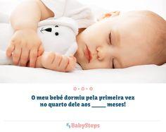 #O_Meu_Bebé_Dormiu_Pela_Primeira_Vez_no_Quarto #babysteps #infográficos #crianças #bebés #quarto #quartodobebé