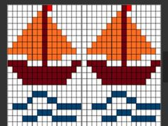Diy Crafts - stitching,needlepoint-Fotografija - Second Crafting crossstitch stitching needlepoint stitches Cross Stitch Sea, Simple Cross Stitch, Cross Stitch Charts, Cross Stitch Designs, Cross Stitch Patterns, Knitting Charts, Baby Knitting Patterns, Knitting Stitches, Needlepoint Stitches