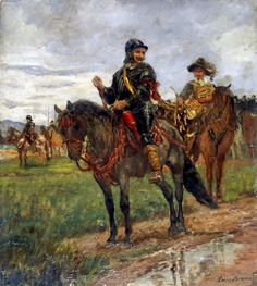 German Reiter, Thirty Years War