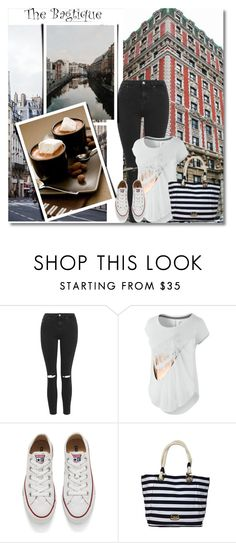 """""""The Bagtique"""" by semic-merisa ❤ liked on Polyvore featuring Topshop, Bagtique, NIKE, Converse, women's clothing, women's fashion, women, female, woman and misses"""