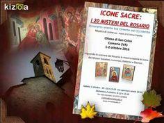 Prossima mostra di ICONE SACRE:I 20 MISTERI DEL ROSARIO  a Comerio 1-2 o...