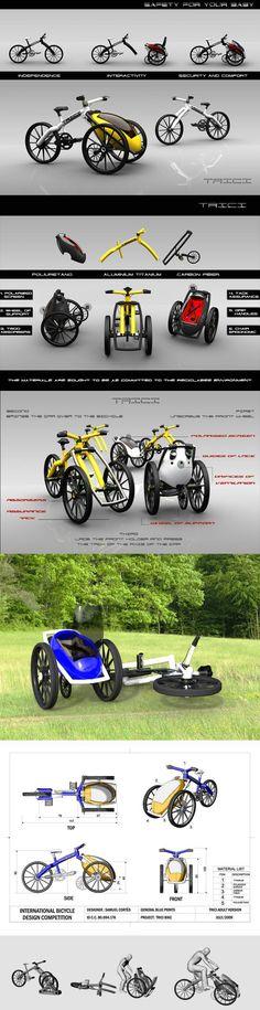 cargo bike TRICI by Samuel Cortés Mora