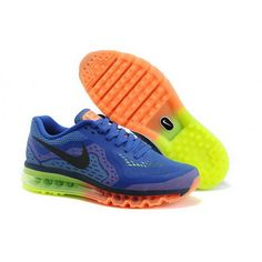 premium selection 80719 be375 Mens Nike Air Max 2014 Shoes Saphire Orange Orange Shoes, Blue Orange,  Orange Sneakers