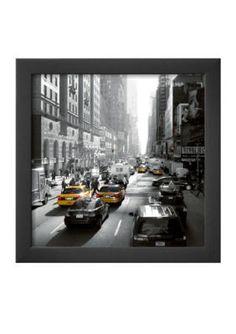 Art.com  Sunset on Broadway New York Framed Art Print