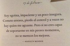 frases marilyn monroe citas Libros Citas de libros #frases #citas