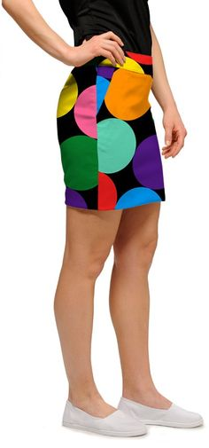 91ef7528c This skirt can be worn on the golf course but is also perfect for a  celebration