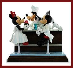Disney Mickey Minnie Mouse Goofy Figure – After the Prom -  Charles Bruce Boyer