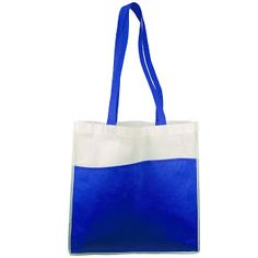River Tote | Impress your clients, advertise your business, and protect the environment all with one low price promotional carry bag. Includes a large space for your logo or marketing message. | Newport Promotions | www.newportpros.com