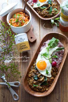 キーマカレーのお家ごはん。|あ~るママオフィシャルブログ「毎日がお弁当日和♪」Powered by Ameba