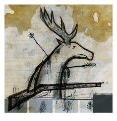 Ian Gamache, The Hunter Becomes the..., Signed and numbered archival pigment print, edition of 10, $30 USD + shipping.