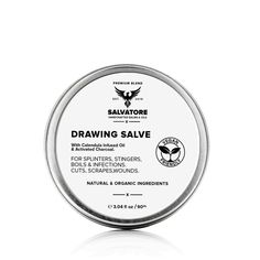 Drawing Salve Calendula Infused Drawing Salve Vegan | Etsy Drawing Salve, Infused Oils, Bentonite Clay, Warts, Band Aid, Organic Coconut Oil, Ingrown Hair, Calendula, Sweet Almond Oil