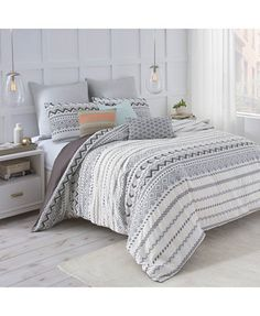 Under the Canopy Abstract Aztec-Print Full/Queen Comforter Set - Comforters: Down & Alternative - Bed & Bath - Macy's
