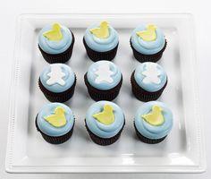 Georgetown Cupcake Baby Boy Cupcakes!