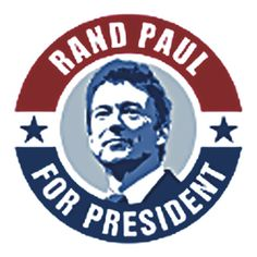 RAND PAUL FOR PRESIDENT. THIS DESIGN AVAILABLE ON TSHIRT AND 22 OTHER PRODUCTS, CHECK THEM OUT.