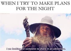 Funny pictures about Partying Gandalf style. Oh, and cool pics about Partying Gandalf style. Also, Partying Gandalf style. What Do You Mean, Look At You, That Way, I Love To Laugh, Make Me Smile, Into The West, Youre My Person, Darth Vader, Fandoms