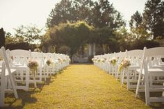 Outdoor wedding at Daniel Stowe Botanical Gardens- a Creative Solutions Event