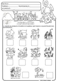A Arte de Ensinar e Aprender: Atividades temáticas - Arca de Noé (Projeto Vinícius de Moraes)