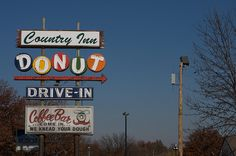 Country Inn Donut Drive In by queenodesign