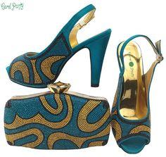 13113a24420 OLAMICH NEW Arrival Italian WOMEN Designer Shoe Bag Set Wedding Party  Fashion Pumps Pump Shoes