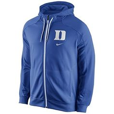 Amazon.com : Nike Duke Blue Devils Game Time Full Zip Performance Hoodie - Royal Blue, Large : Sports & Outdoors