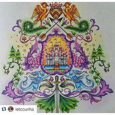 Instagram media desenhoscolorir - Que lindo! By @letccunha #florestaencantada…