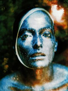 Magia. Mimesi. Alchimia. Fantasie Animiste: Laura Ponte photographed by Javier Vallhonrat for Vogue Italia, December 1997.