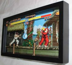 レトロゲームの2D画面を紙で3D化したファンメイドのジオラマ | Game*Spark - 国内・海外ゲーム情報サイト