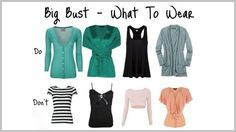 8 Fool-Proof Fashion Tips for Large Bust Women