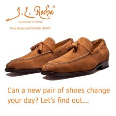 When we look good the day changes, we walk straight, we do more & do better. Is amazing what a new pair of shoes can do