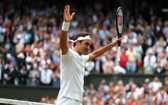 壁紙をダウンロードする ロジャー-フェデラー, スイスのテニスプレイヤー, 勝利, テニス, ATP, 肖像