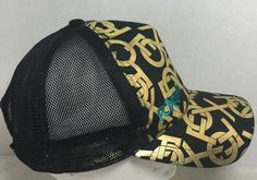 Fox Racing Hat Gold Logo Black with Mesh Snap Back | eBay