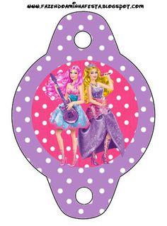 Imprimibles Barbie Princesa y Pop Star 3. |¡Disfrutando en mi hogar!
