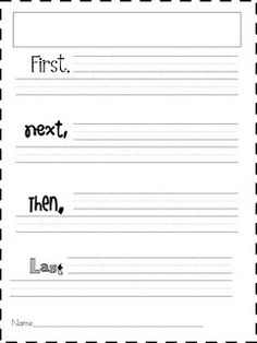 Organizing for story writing- 1st grade blog---a lot of common core freebies that could be used for homeschooling also.