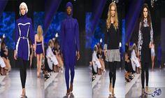 """عائشة رمضان تُعلن عن أجمل مايوهات للمحجبات خلال الصيف: أطلقت المصممة اللبنانية عائشة رمضان، مجموعة ملابس جديدة باسم """"لأزور""""، والتي استوحتها…"""