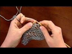 There are lots of things in knitting that are deceptively simple, and the sea-foam stitch is one of them. It's a beautiful stitch that mimics the undulating movement sea foam makes as it lies on top of the water. This stitch is formed by wrapping the yarn around the needle numerous times between stitches and …