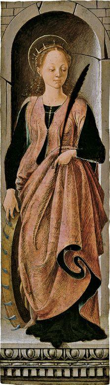 Francesco del Cossa Saint Catherine ca. 1470-1472