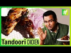 """"""" Tandoori chicken is a dish popular in South Asia, Malaysia, Singapore and Indonesia which consists of the roasted chicken prepared with yogurt and spices. Crab Recipes, Chicken Recipes, Roasted Chicken, Tandoori Chicken, Reshmi Kebab, Red Curry Chicken, Healthy Recipes, Simple Recipes, Fritters"""