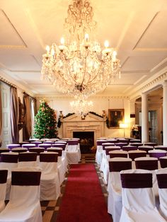Magical wedding venue set for your dream winter wedding at Chilston Park, Kent