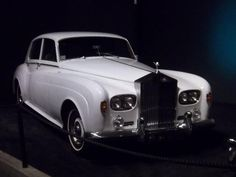 White Rolls owned by Elvis